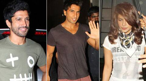 The film has an ensemble cast of Farhan Akhtar, Priyanka Chopra, Anushka Sharma, Ranveer Singh, Anil Kapoor among others.
