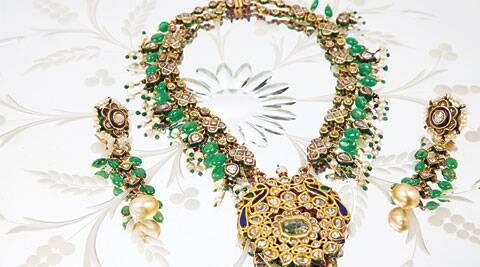 "The festival of flowers finds expression in Alpana Gujral's latest collection ""Gul Bahar"