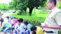 20 outsiders, who came to attend SOPU campaign, booked at PU
