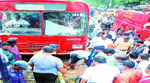 Activists say PMPML is unaware of the track record of those who drive private buses. (Source: Express Photo)
