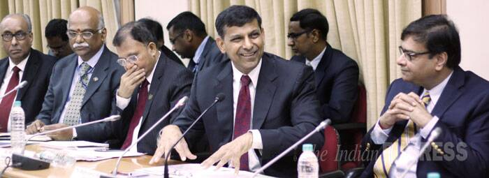 Bankers said the RBI action does not provide room to cut interest rate and hence the EMIs for home and auto loans will remain the same. Industry chambers voiced disappointment saying that RBI should have cut the rate to boost industrial growth. (Source: Express photo by Pradip Das)
