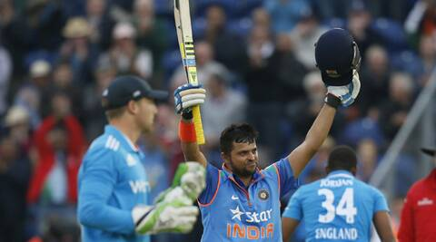 Raina stroked his way to a 75-ball 100 in the 2nd ODI and instilled some new vigour into the team after the dismal Test series. (Source: AP)