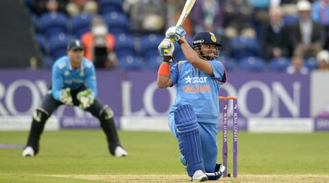 Raina blasted a 75-ball 100, his first outside the subcontinent and fourth overall. (Source: Reuters)