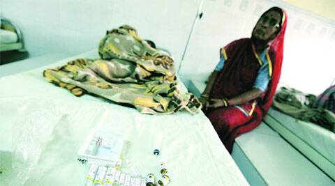 Free medicines in front of a patient at Acharya Tulsi Regional Cancer Treatment and Research Centre in 2013.(File)