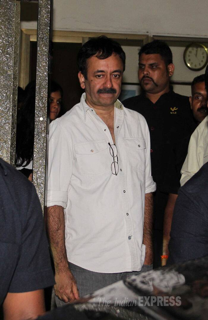 Rajkumar Hirani, who has previously worked with Aamir in '3 Idiots', looks lost in thought. (Source: Varinder Chawla)