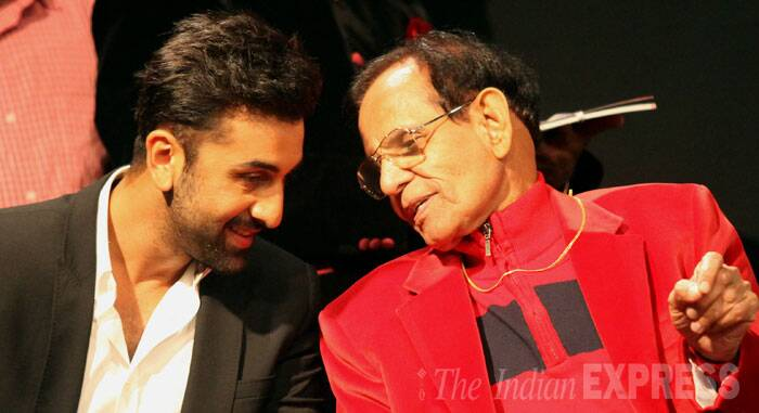 Ranbir with Dr O P Kapoor, a senior physician, who has been the Kapoor family doctor for decades.  (Source: Express photo by Prashant Nadkar)