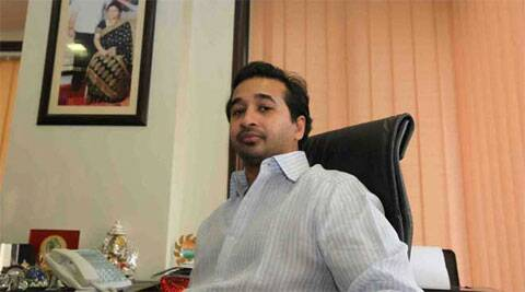 Minister Narayan Rane's son Nitish Rane said he will ensure that Shiv Sena head Uddhav Thackeray loses badly. (Source: PTI/file)