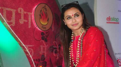 Rani Mukerji is flooded with compliments for her performance in 'Mardaani'.