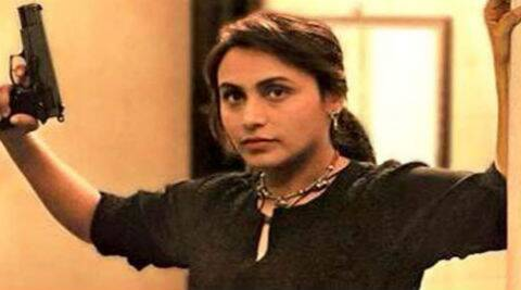 In the film, Rani plays a rough and tough police officer for the first time in her career.