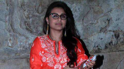 Post marriage, it is often seen that actresses in Bollywood slow down their work but that does not seem to be the case with Rani, who is seen playing role of a tough cop Shivani Roy in her latest release 'Mardaani'.