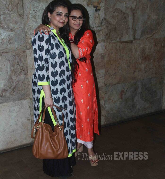 Rani with her best friend Vaibhavi Merchant. (Source: Varinder Chawla)