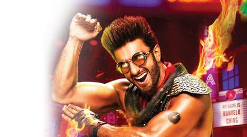 Ranveer Singh in a still from the video
