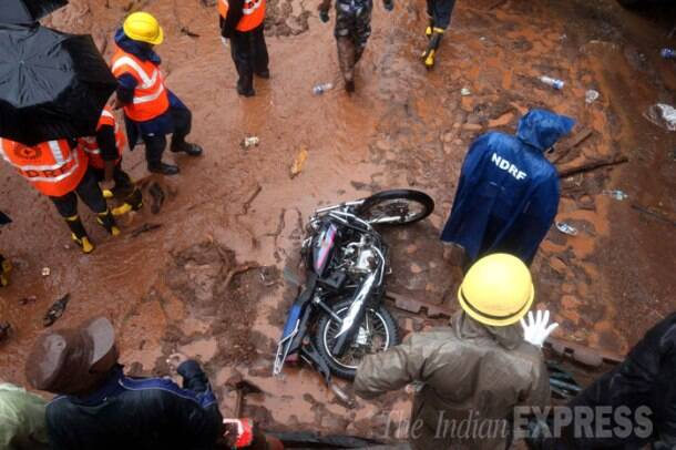 Pune landslide: Death toll rises at Malin village