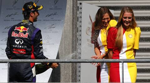 This was Ricciardo's third win in 12 races so far this season and his second in a row. (Source: Reuters)