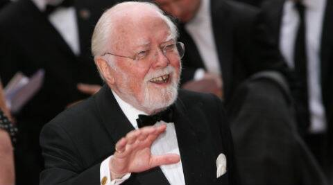Richard Attenborough died in London on Sunday at the age of 90. (Source: AP)