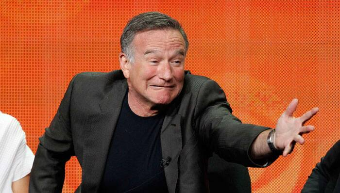 "Encouraged by Houseman to pursue comedy, Robin Williams identified with the wildest and angriest of performers: Jonathan Winters, Lenny Bruce, Richard Pryor, George Carlin. Their acts were not warm and lovable. They were just being themselves. <br /><br /> Cast member Robin Williams gestures at a panel for the television series ""The Crazy Ones"" during the CBS portion of the Television Critics Association Summer press tour in Beverly Hills, California, in this file picture taken July 29, 2013. (Source: Reuters)"