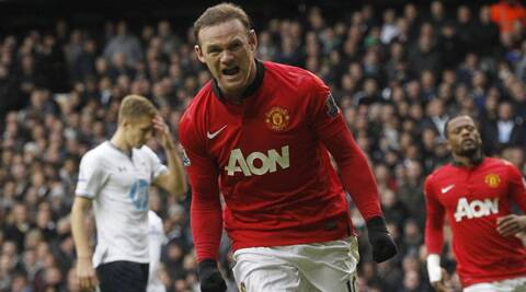 Wayne Rooney, 28, joined Manchester United from Everton 10 years ago (Source: AP)