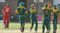 Utseya hat-trick in vain as South Africa beat Zimbabwe comfortably