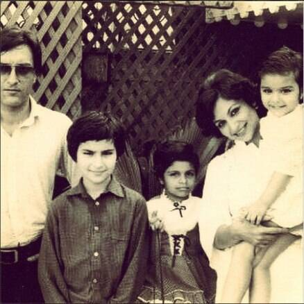 Meet the nawabs - Li'l Saif and sister Soha Ali Khan