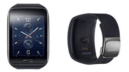 Samsung unveils Gear S, a smartwatch that can make calls