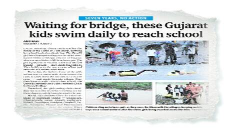 Gujarat govt nod to bridge after NHRC issues notice