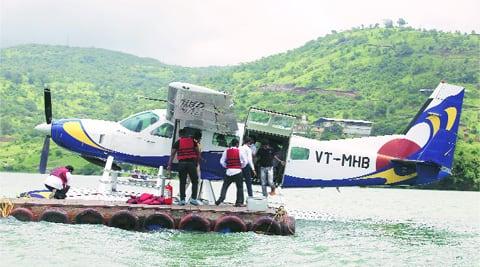goa, seaplane, goa seaplane landing, goa seaplane river landing, goa river, mandovri river, mandovri seaplane landing, dilip parulekar, goa fishermen, goa news, goa business, goa market, india news
