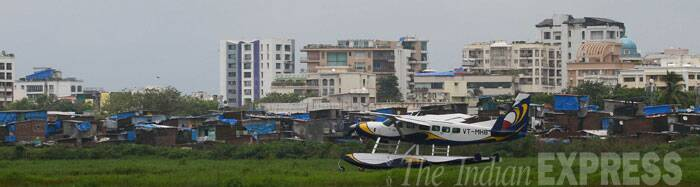 The city-based operator pioneered the launch of seaplanes operations in the country in January 2011 when it rolled out services in the Andaman and Nicobar Islands. (Source: Express Photo by Amit Chakravarty)