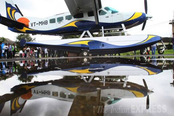 India's first commercial seaplane services begin