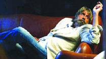 Amitabh Bachchan in  a pensive mood