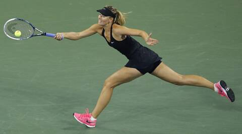 Maria Sharapova won 10 straight games to prevail 6-4 6-0 after falling 2-4 behind (Source: Reuters)