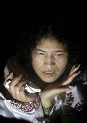 Irom Sharmila walks free, vows to continue fast