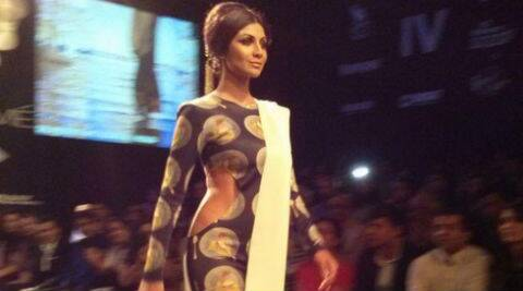 Shilpa Shetty: I feel elated taking the ramp for Masaba. (Source: Twitter)