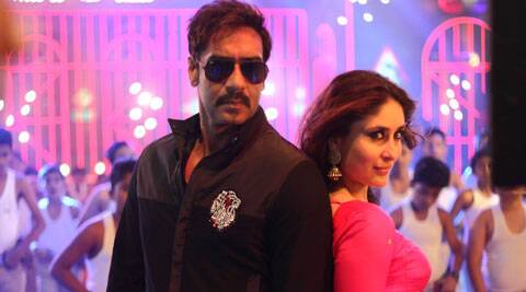 The song features Ajay Devgn, Kareena and Honey Singh along with a number of children dressed in khaki in the background.