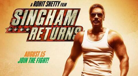 "The Independence Day release ""Singham Returns"" has crossed the Rs.50 crore-mark in just two days."