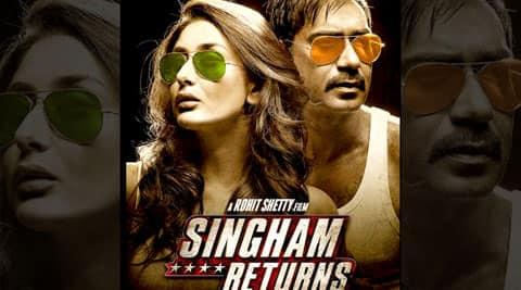 Review: Ajay Devgn, Kareena Kapoor's Singham Returns