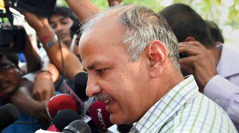 AAP leader Manish Sisodia said that BJP is resorting to dishonest and highly unethical means of trying to form the government in Delhi. (Source: PTI)