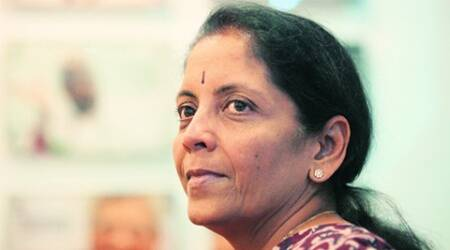 Nirmala Sitharaman at the Idea Exchange.