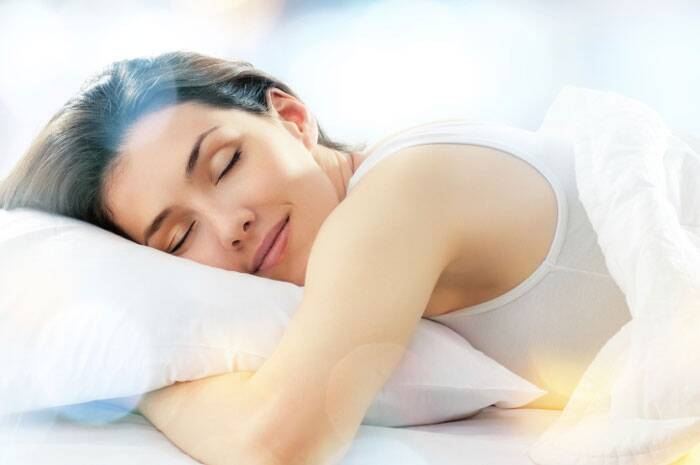 Sleep at least seven to eight hours a night so your skin has enough time to rejuvenate and heal itself. (Source: Thinkstock Images)