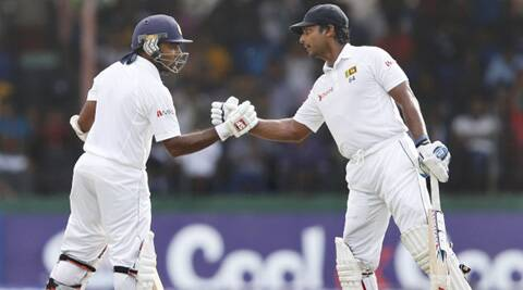 Sangakkara and Jayawardene negotiated the Pakistan bowling skillfully on a turning track to put their team in a strong position. (Source: Reuters)