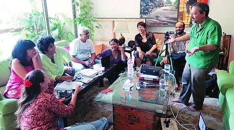Veterans from the India Theatre Forum discuss SMART.