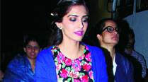 Sonam Kapoor gets set for tthe last leg of the song