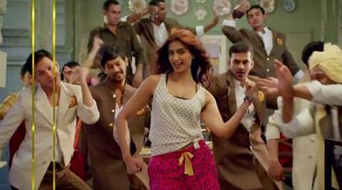 Song titled 'Engine Ki Seeti' shows Sonam in a totally different bindaas avatar.