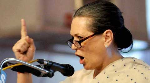 Sonia Gandhi said that the moment the BJP behaves in a dictatorial way, the Congress would stand up and fight. (Source: PTI/file)