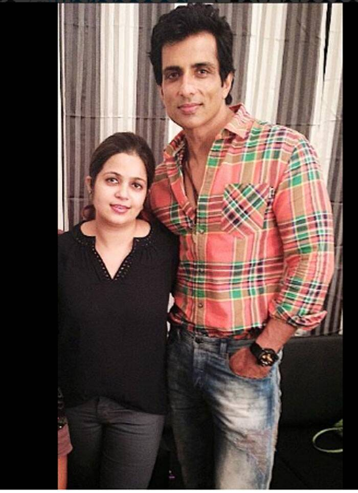 Chedi Singh - Sonu Sood celebrated the special day with his sister. (Source: Twitter)