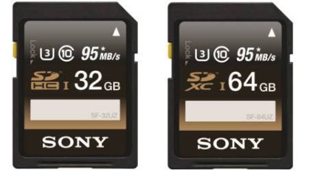 Sony launches new high speed SD cards with 4Ksupport