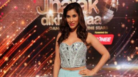 Sophie Choudry had been battling back spasms and muscle pulls.