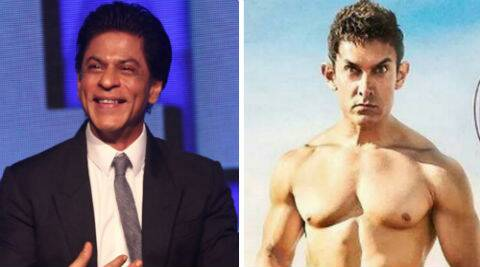 Shah Rukh Khan commented on Aamir Khan's 'PK' poster.
