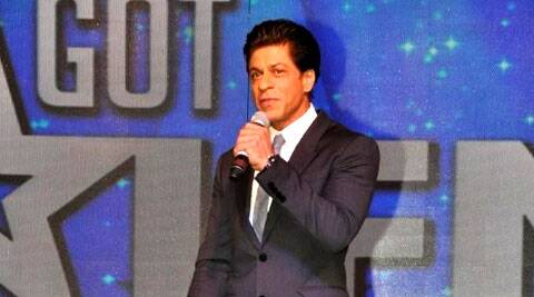 Shah Rukh Khan also took a dig at Aamir Khan starrer PK film's poster at the announcement of the Got Talent World Stage Live.