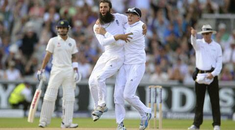 Ali's tally of 19 wickets is second highest by an England spinner against India in England. (Source: Reuters)