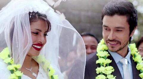 'Sukoon Mila' is a soft, romantic track depicting the innocent love between Mary Kom, played Priyanka, and her husband.